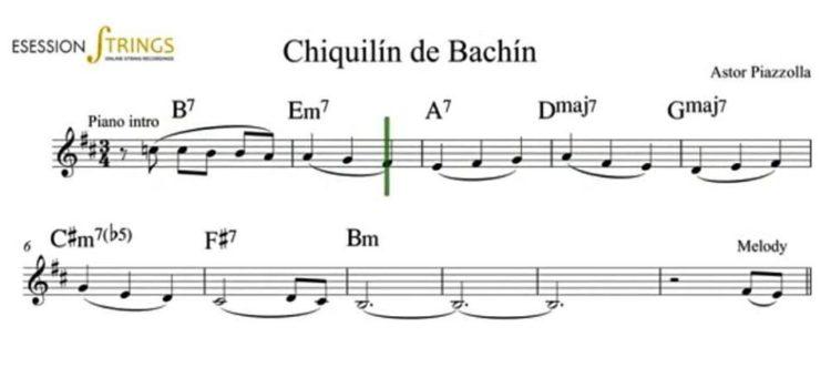 Estudiando Chiquilín de Bachín en guitarra y voz – Sergio Leo