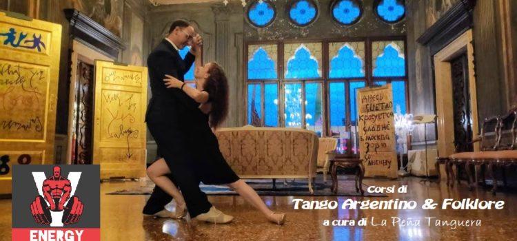 Corsi di Tango Argentino – Lezione di prova – Venerdì 13 settembre e 27 settembre ore 21:00